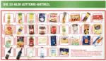 Aldi Lotterie Produkte