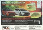 Autohaus Tresor-Gewinnspiel Zeitungsanzeige