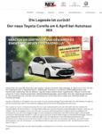 Autohaus Tresor-Gewinnspiel Pressemitteilung