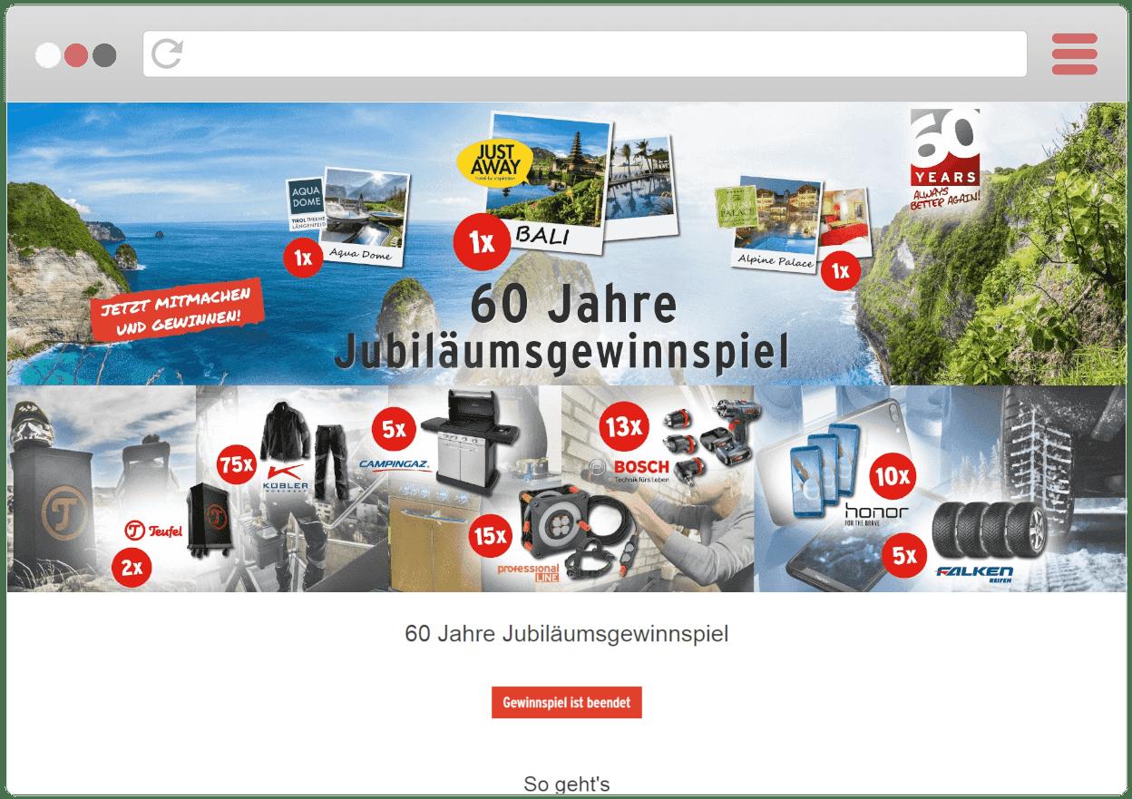 HAPPY-Gewinnspiel für Brennenstuhl-Jubiläum