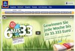 """Aldi Kassenbon-Gewinnspiel """"6 aus 33"""""""