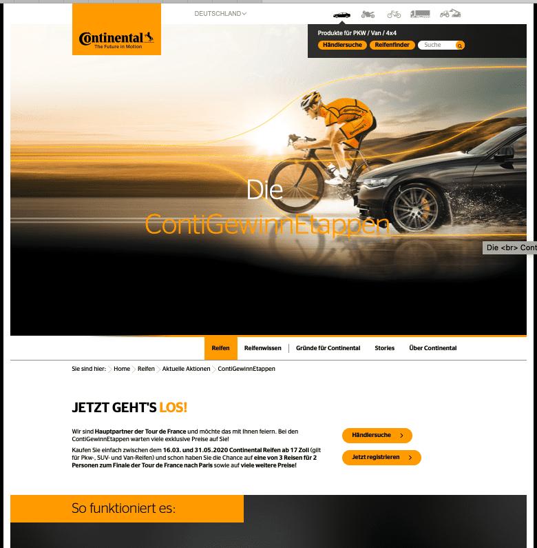 Gewinnspiel-Cases Automotive Continental