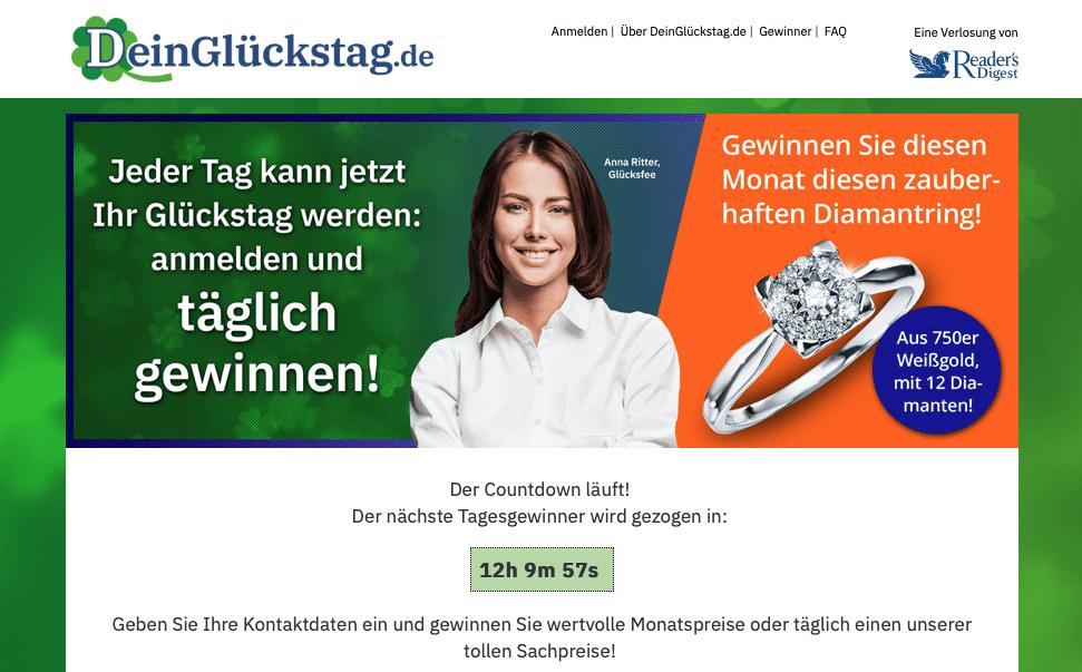 Gewinnspiel-Case Verlage Readers Digest