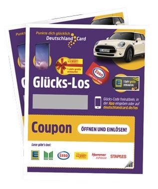 DeutschlandCard Glücks-Los