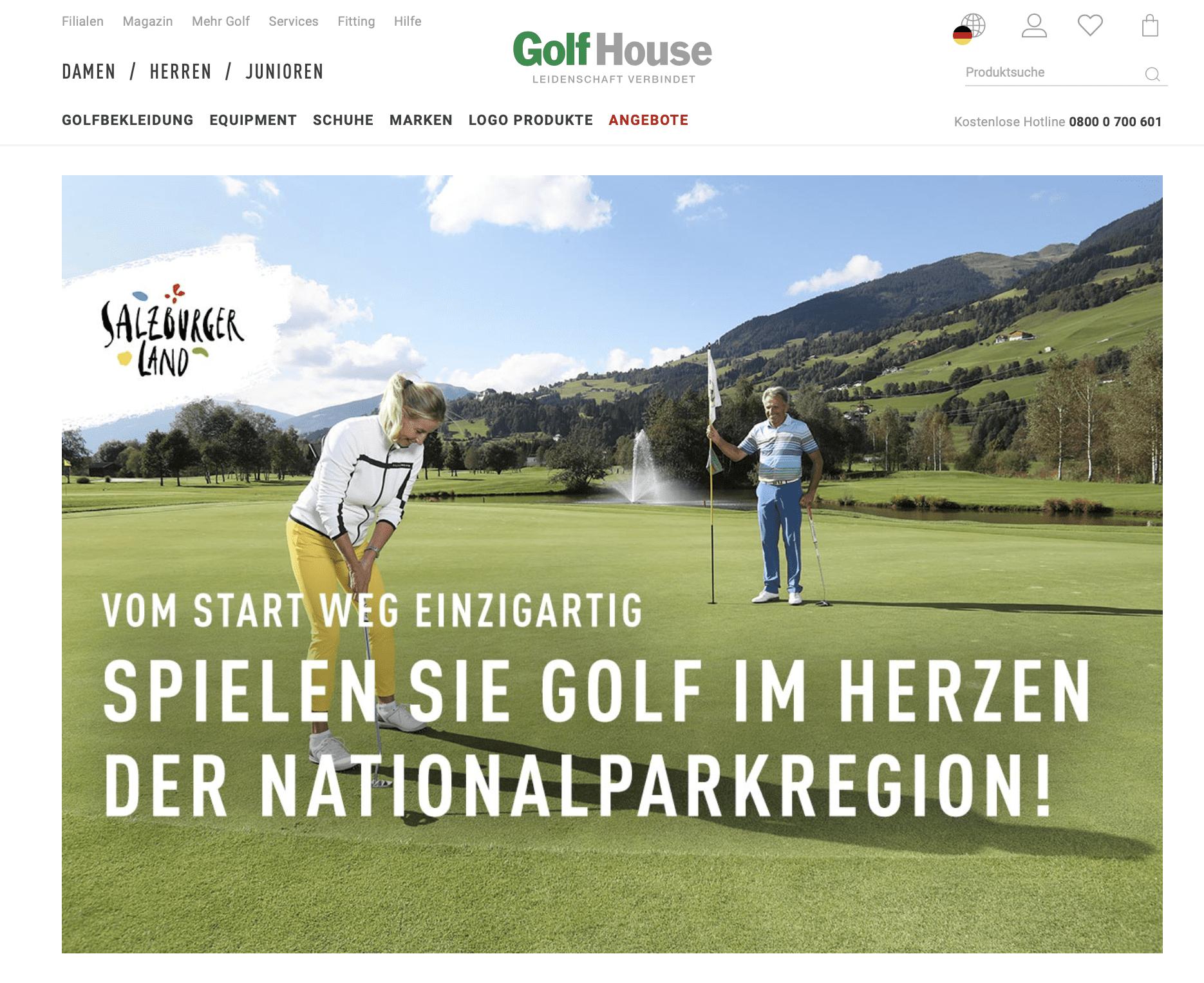 Golfhouse Gewinnspiel