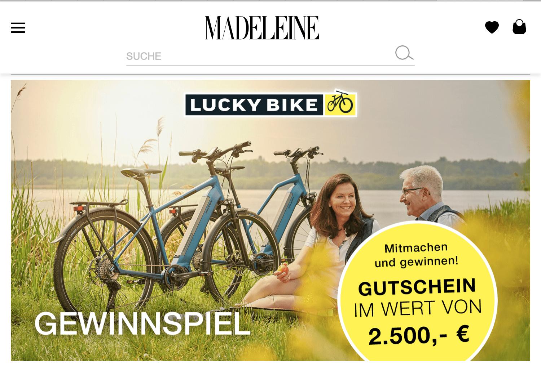 Madeleine Gewinnspiel