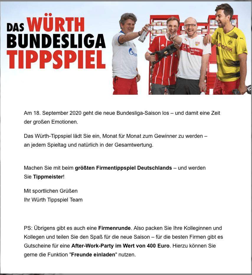 Gewinnspiel-Cases Dienstleistungen & Handwerk Würth