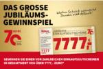Cases Jubiläums-Gewinnspiele Wohn Schick