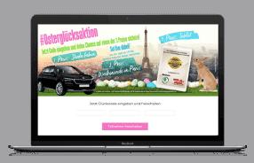 Gewinnspiel-Cases Dienstleistungen & Handwerk HAPPY für Geck Media