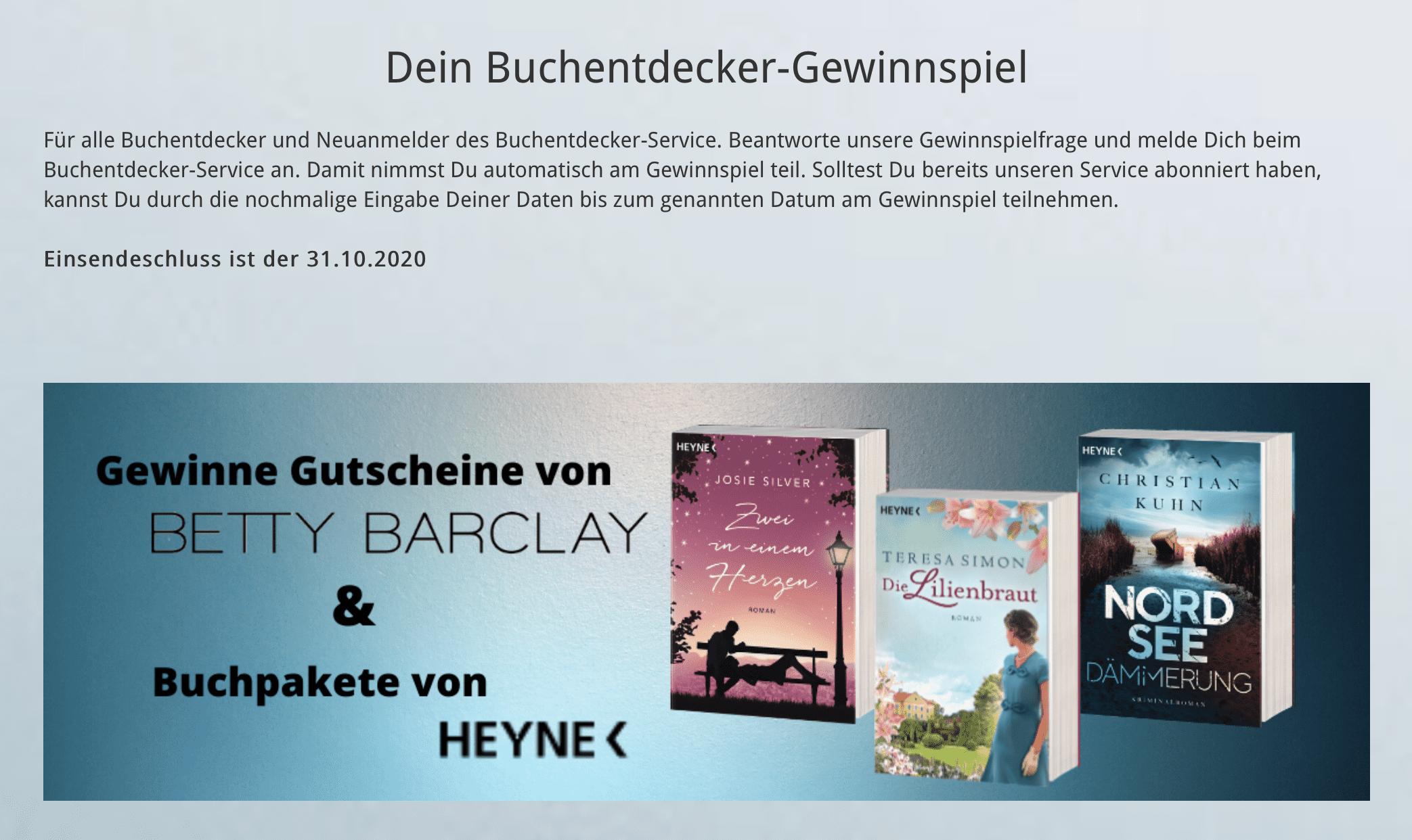 Heyne_Betty Barclay_Gewinnspiel