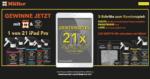 Drogerie Müller 21 iPads gewinnen