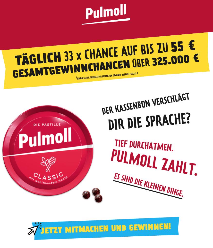 Gewinnspiel- Cases FMCG Süßwaren & Snacks Pullmoll