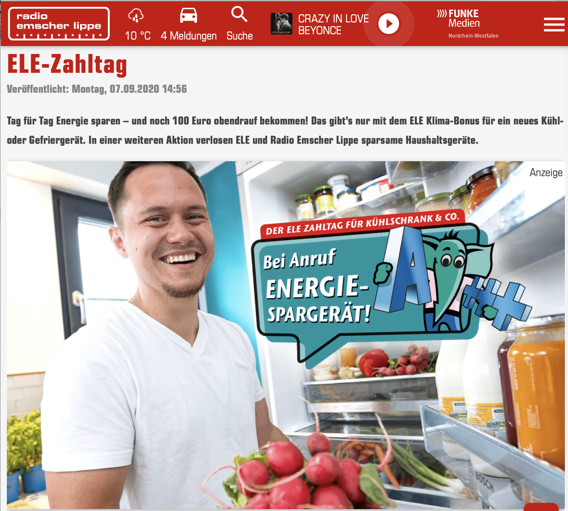 Gewinnspiel-Cases Radio & TV ELE-Zahltag