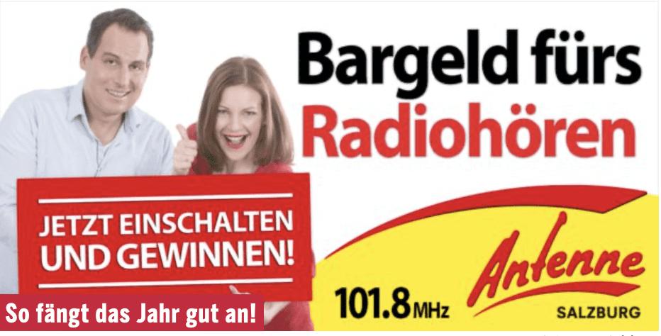 Gewinnspiel-Cases Radio & TV antenne Salzburg