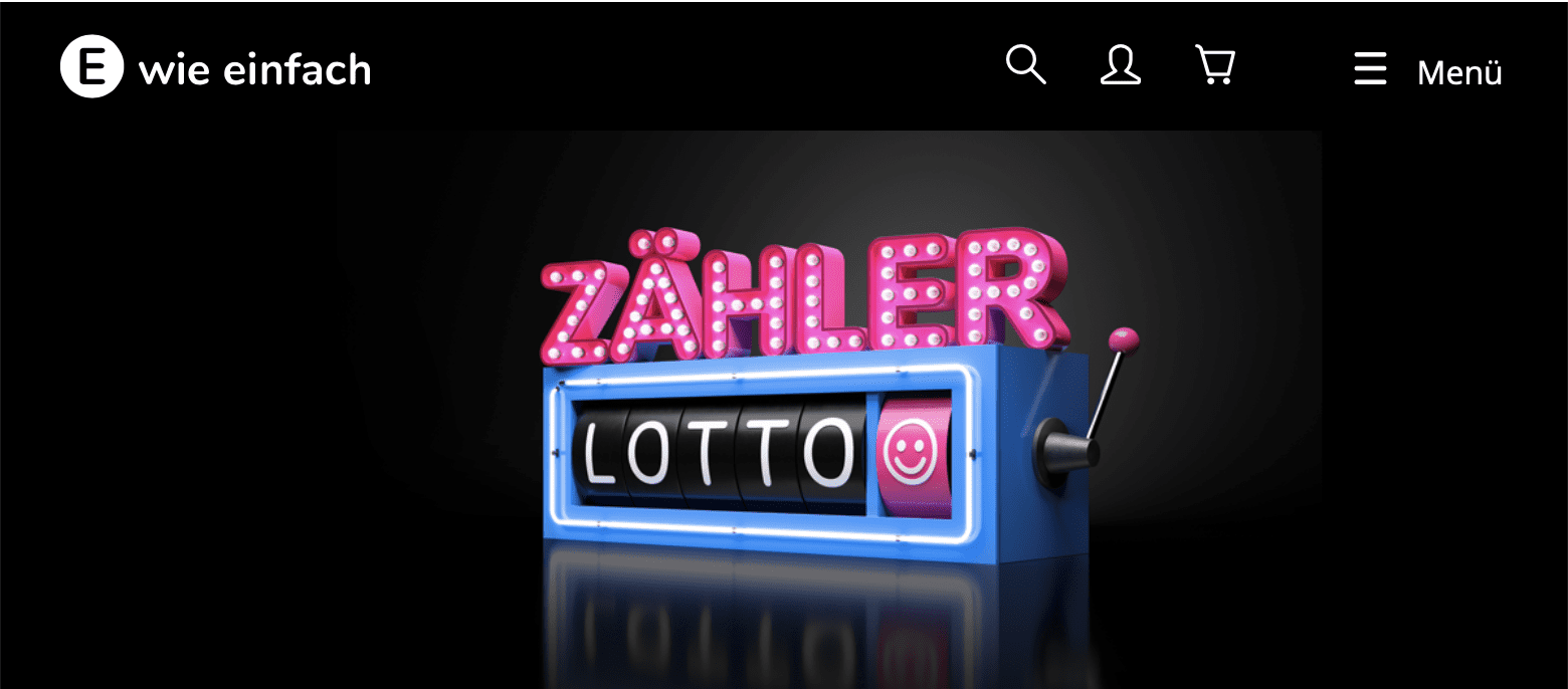 Zähler-Lotto: Die Zählernummer wird zur Glückszahl Leadgenerierung