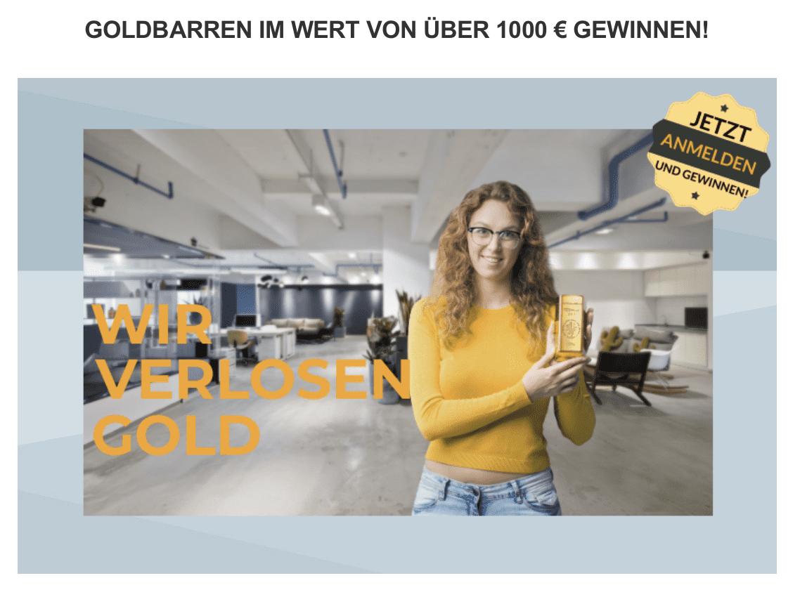 easygold.de Gewinnspiel