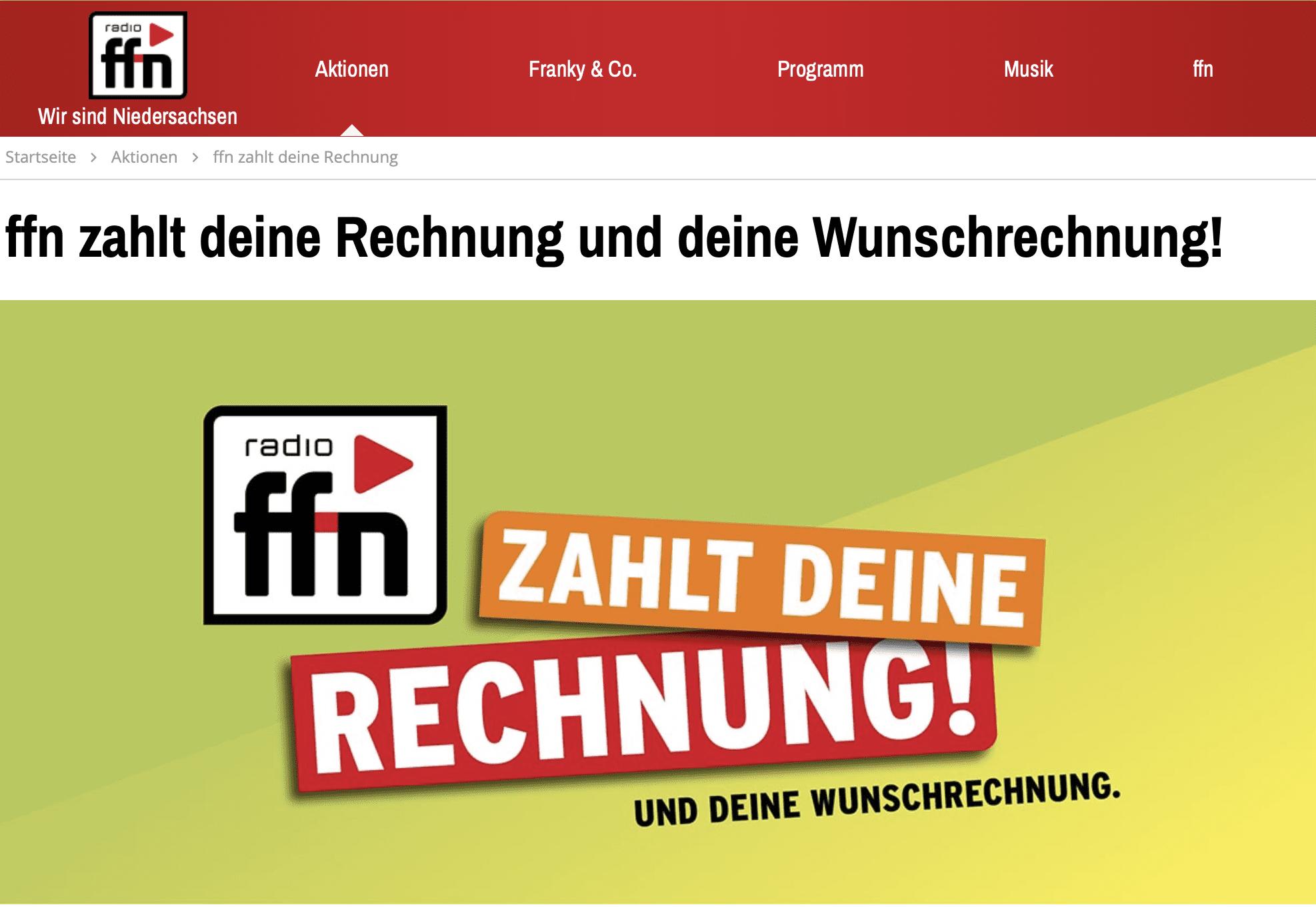 Gewinnspiel-Cases Radio & TV ffn