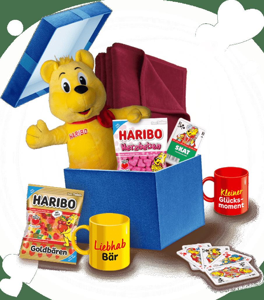 Haribo Herz Gewinnspielpaket