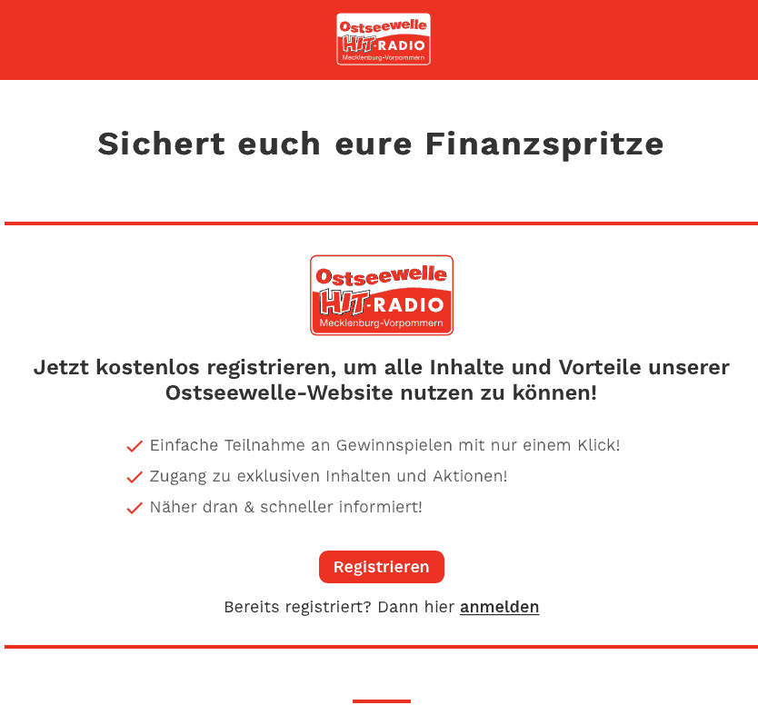 Gewinnspiel-Cases Radio & TV Ostseewelle