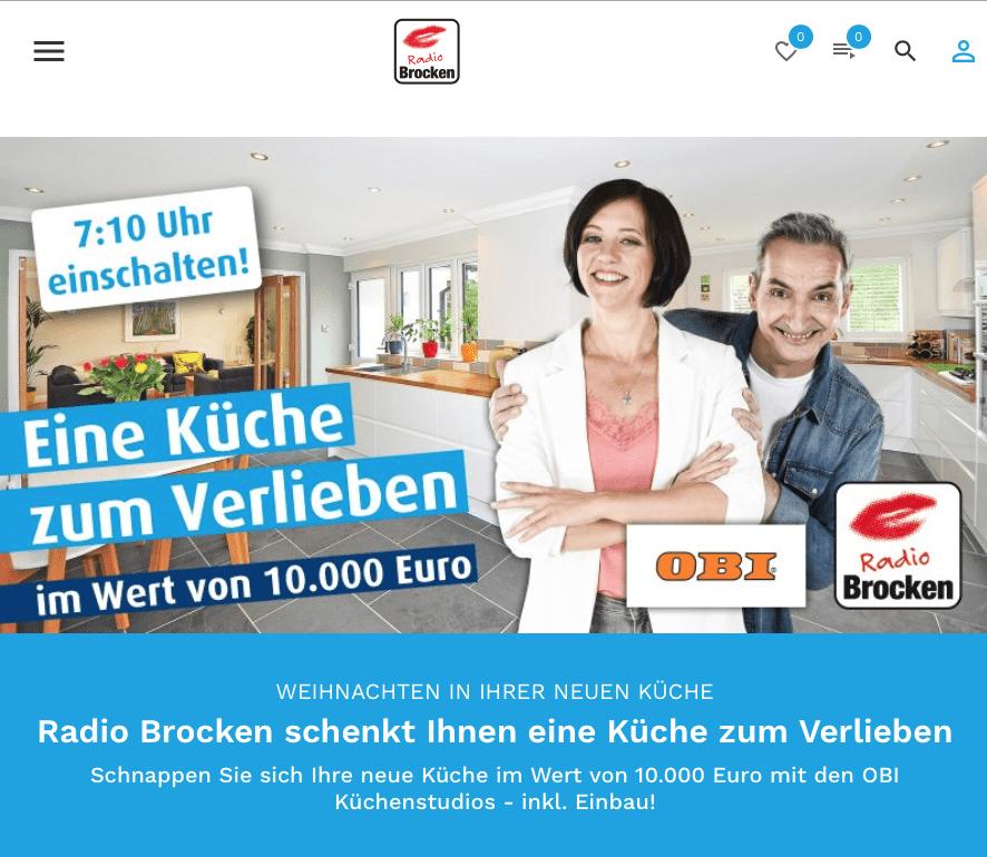 Gewinnspiel-Cases Radio & TV Radio Brocken