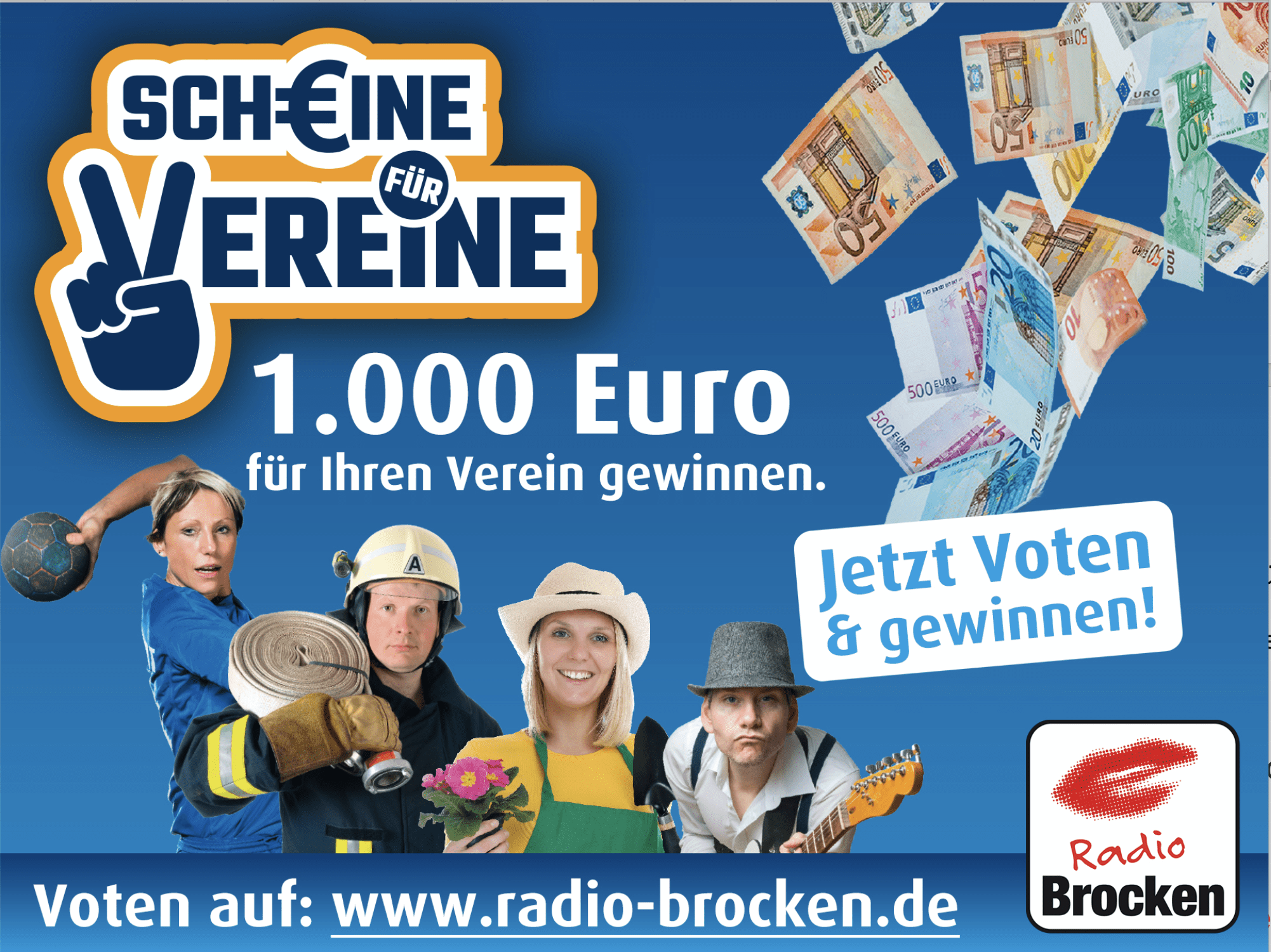 Gewinnspiel-Cases Radio & TV Scheine für vereine