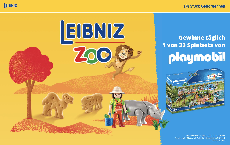 Gewinnspiel- Cases FMCG Süßwaren & Snacks Leibniz Zoo
