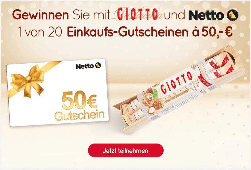 Gewinnspiel- Cases FMCG Süßwaren & Snacks Giotto