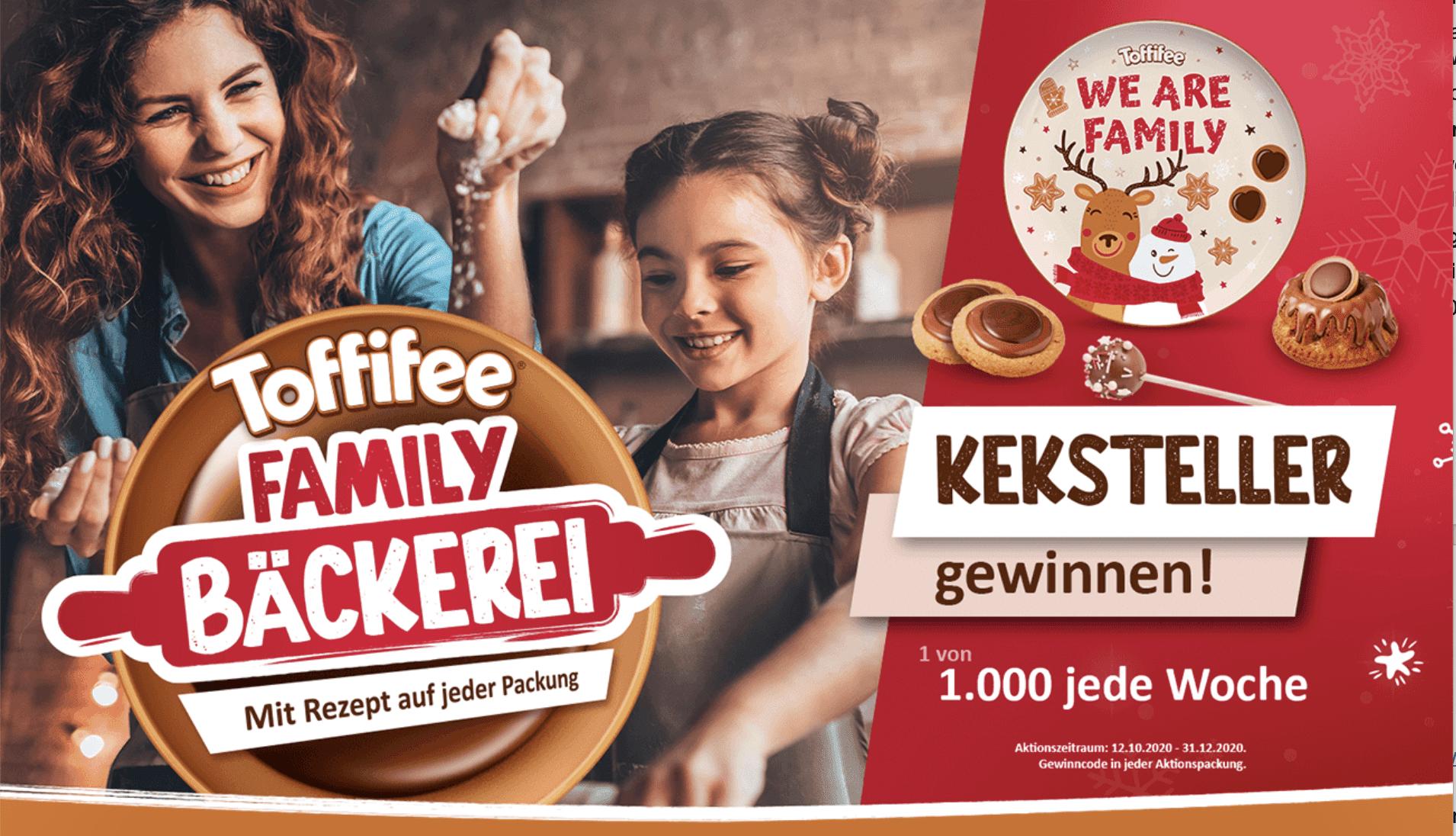 Gewinnspiel- Cases FMCG Süßwaren & Snacks Toffifee-Pops