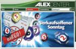 Alex-Center Kassenbon-Bingo