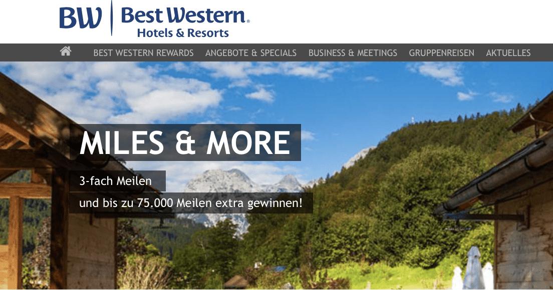Gewinnspiel-Cases Bonusprogramme Best Western