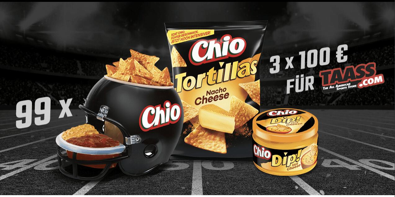 Gewinnspiel- Cases FMCG Süßwaren & Snacks Chio