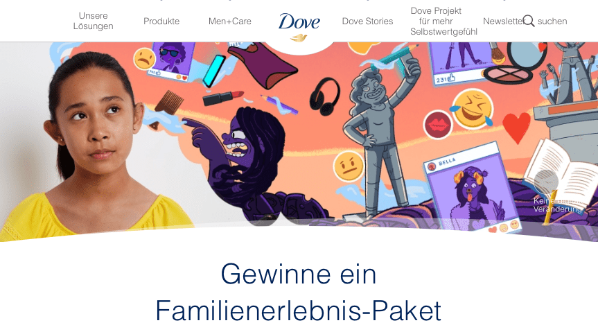 Teanage Dove Gewinnspiel-Cases FMCG Non Food