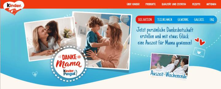 Gewinnspiel- Cases FMCG Süßwaren & Snacks Kinder
