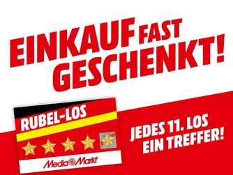 """MediaMarkt Der Rubel rollt Cases """"Gewinn Deinen Einkauf zurück"""""""