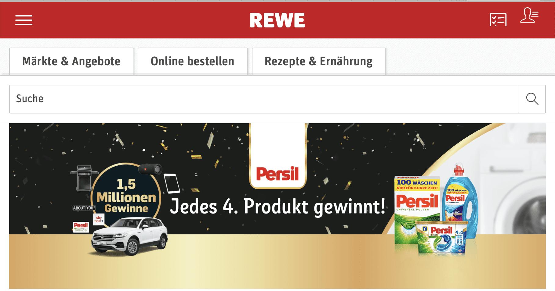 Persil Gewinnspiel-Cases FMCG Non Food