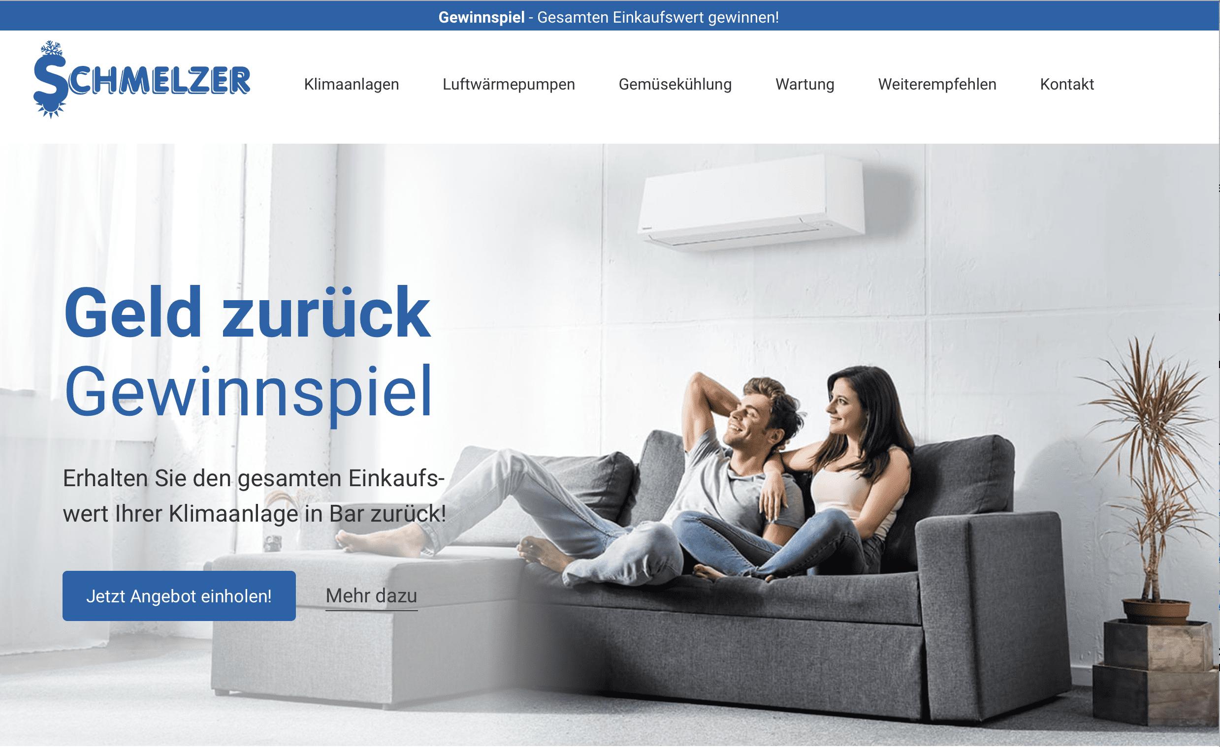 """Schmelzer Cases """"Gewinn Deinen Einkauf zurück"""""""