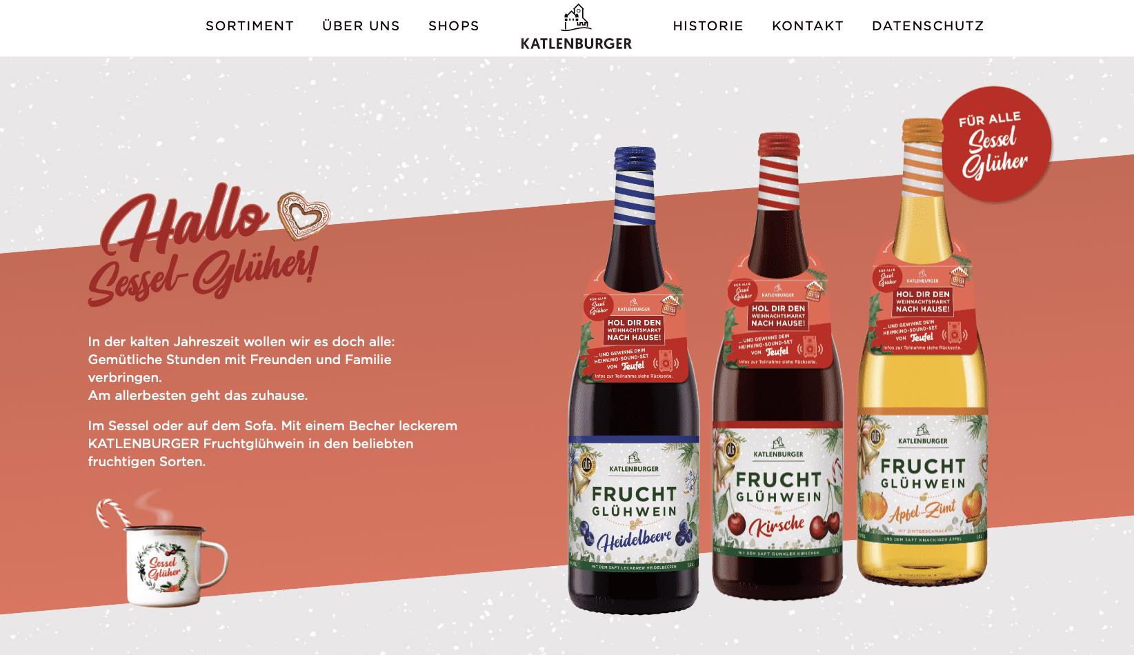 Gewinnspiel-Cases FMCG Getränke