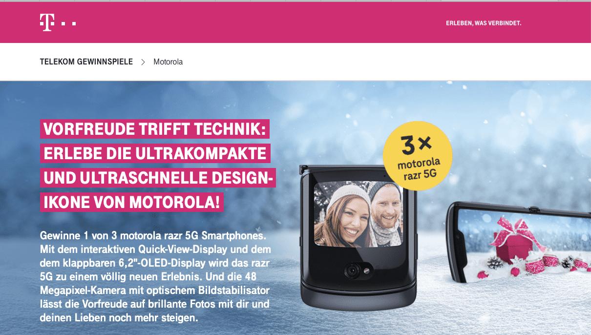 Design-Ikone von Motorola gewinnen