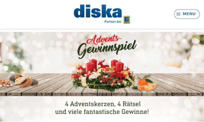 diska Cases Adventskalender-Gewinnspiel