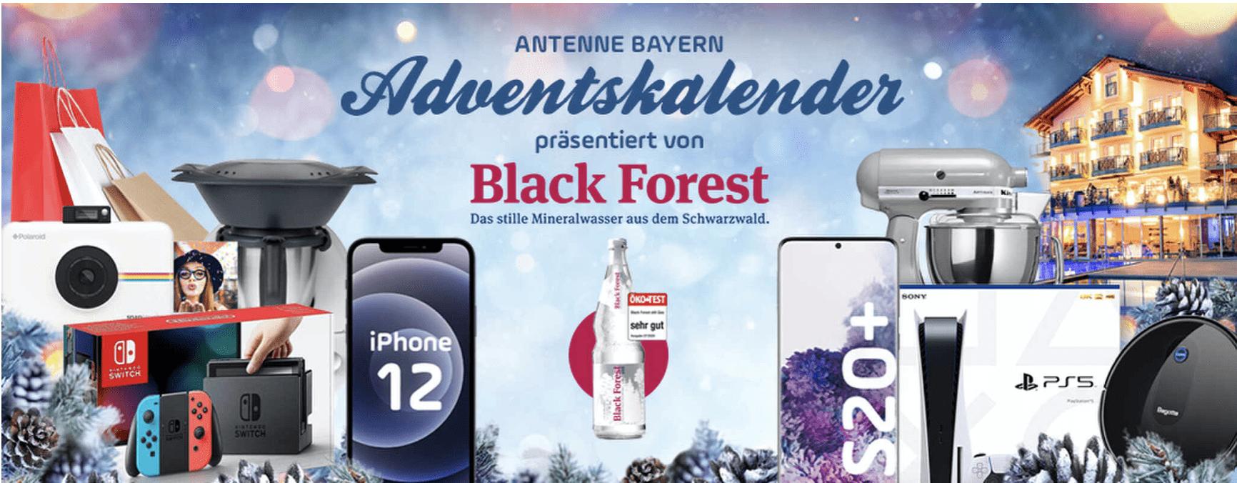 Antenne Bayern Cases Adventskalender-Gewinnspiel