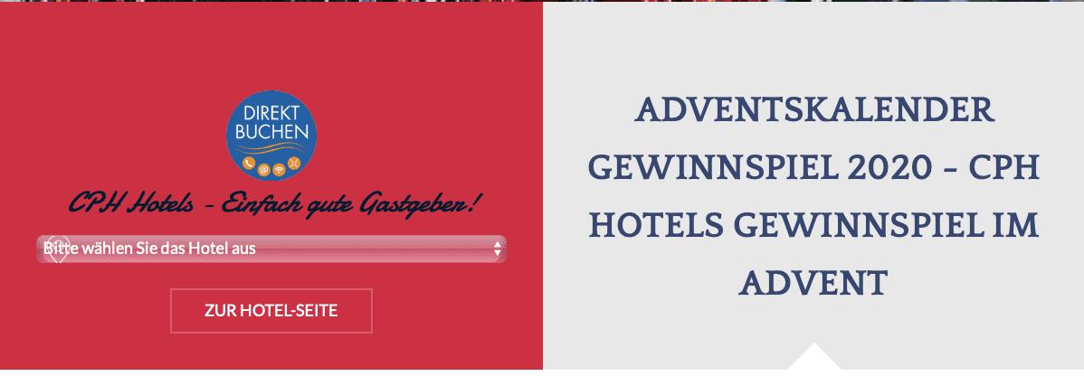 CPH Hotels Adventskalender-Gewinnspiel