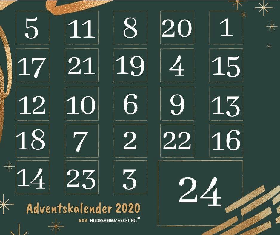 Hildesheimer Cases Adventskalender-Gewinnspiel