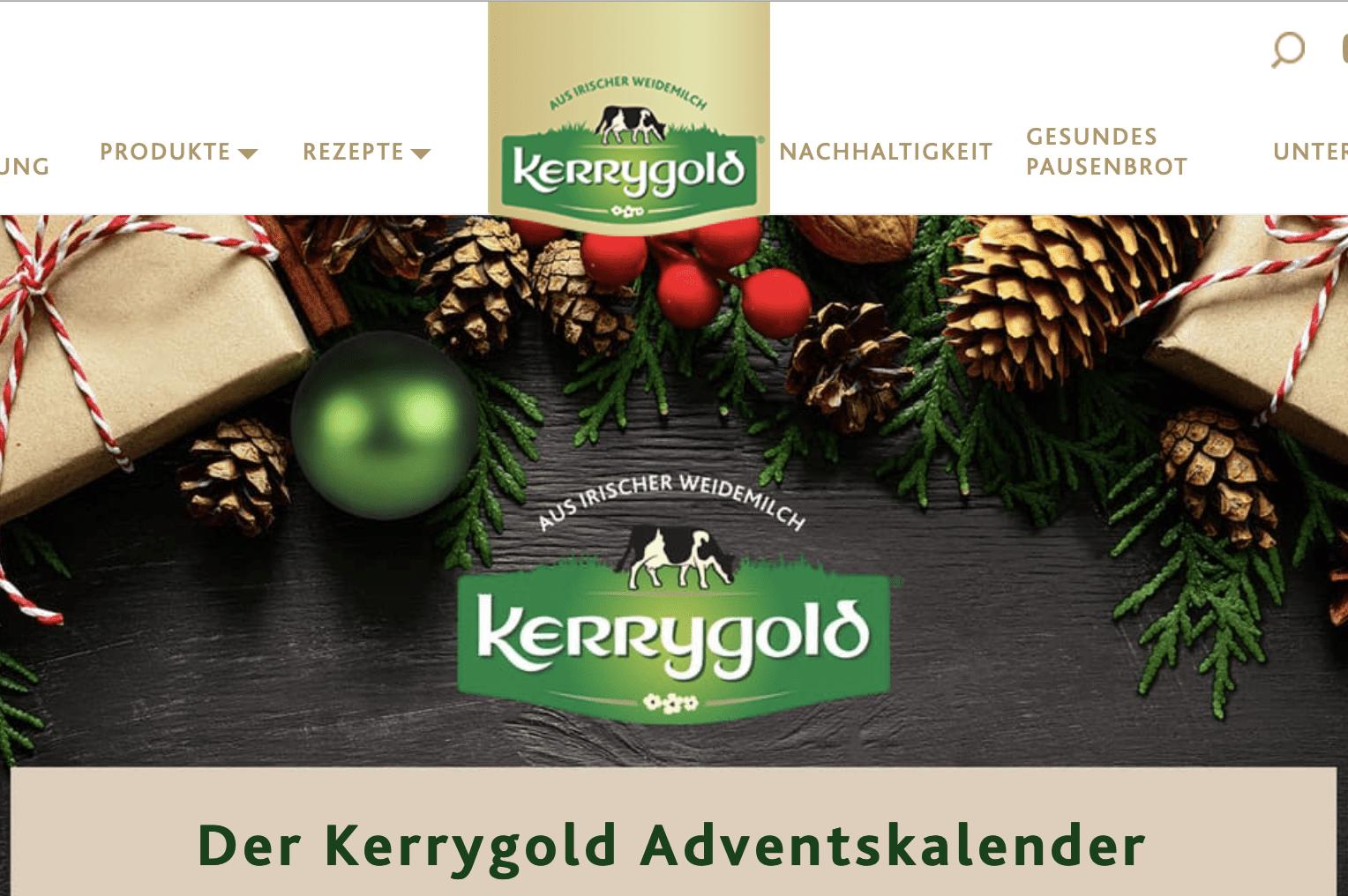 Kerrygold Cases Adventskalender-Gewinnspiel