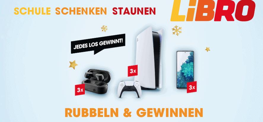 """Newsletter-Abo LIBRO Gewinnspiel """"Rubbeln & Gewinnen"""""""