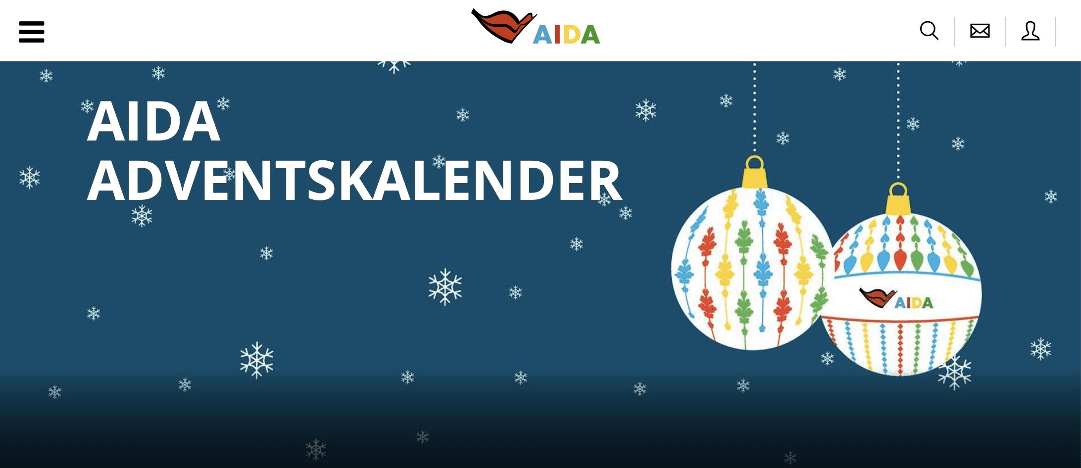 AIDA Adventskalender-Gewinnspiel