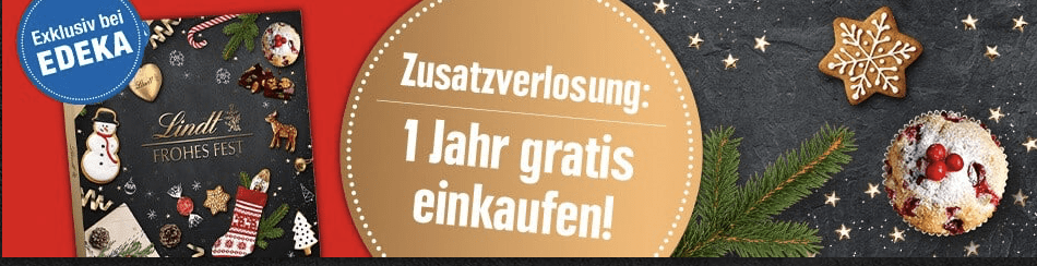 Edeka Lindt Cases Adventskalender-Gewinnspiel