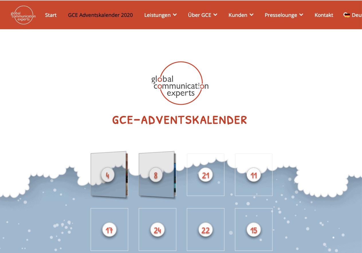 GCE Cases Adventskalender-Gewinnspiel