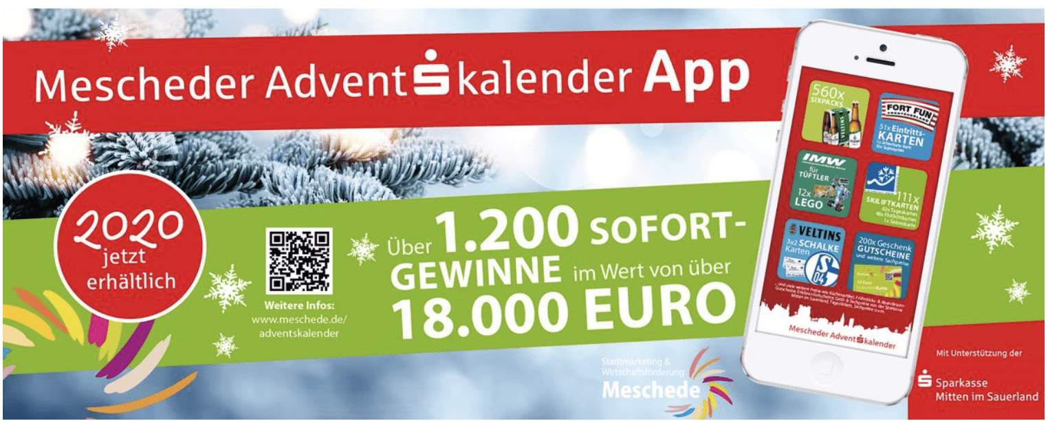 Meschede Cases Adventskalender-Gewinnspiel