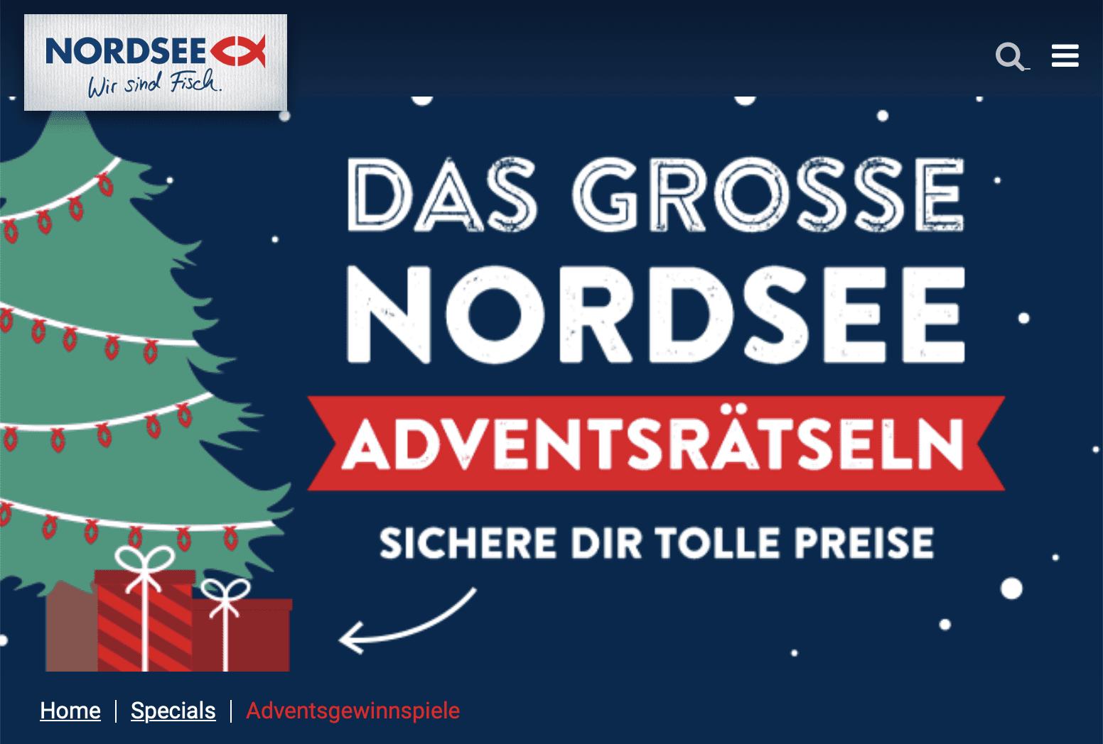 Nordsee Cases Adventskalender-Gewinnspiel
