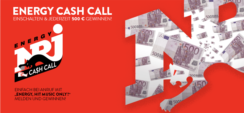 Gewinnspiel-Cases Radio & TV Energy Cash Call